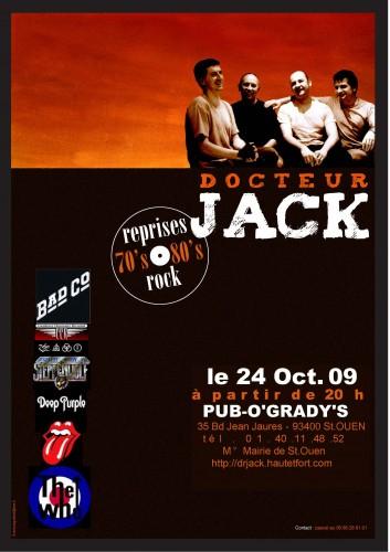 Dr Jack Concert 24 oct. 09 - Affiche.jpg